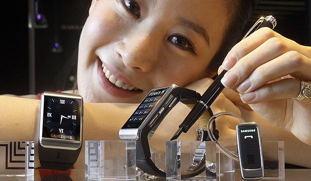Samsung working on smart watch