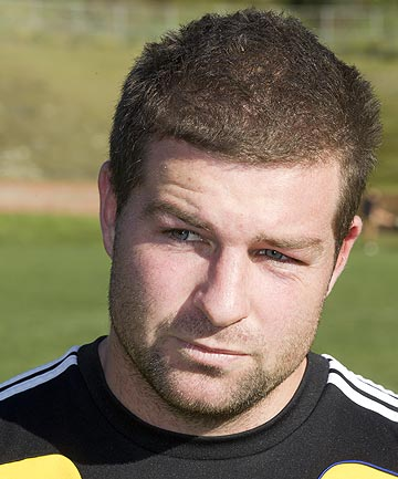 Former Hurricanes rugby player Chris Eaton