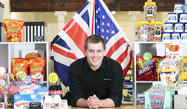 SWEET SUCCESS:  United Sweets co-director Finn Puklowski says that because of a rapidly expanding internet business, United Sweets is preparing to open a shop in Porirua. They are developing their standardised kiosk model, which will include bulk units which allow customers to buy lots of jelly beans of their favourite flavour.