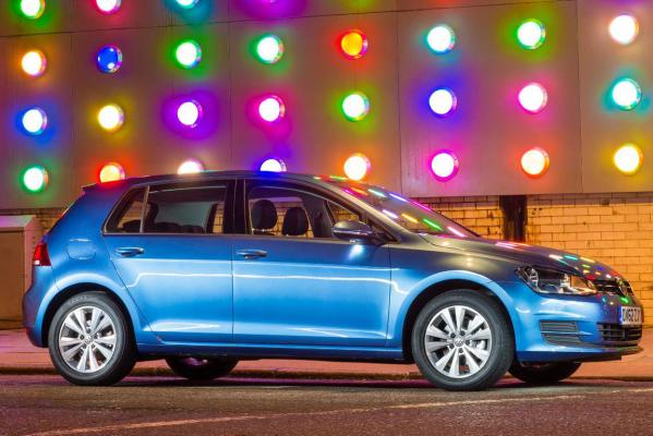 Volkswagen Golf 7, the world car of the year.