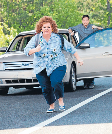 Melissa McCarthy plays a thoroughly unlikeable character in Identity Thief.
