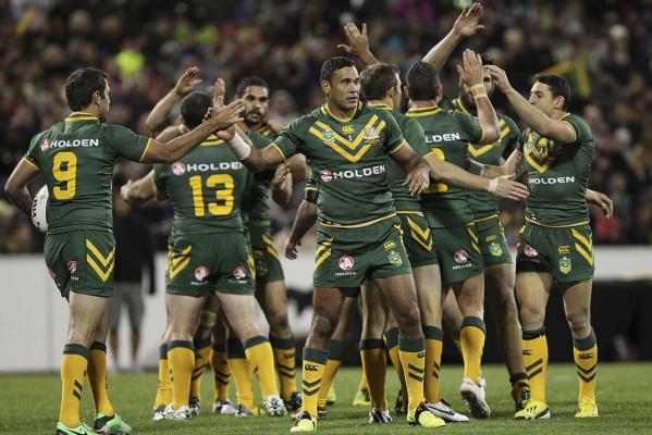 Kangaroos and Justin Hodges
