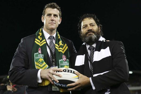 Ben Roberts-Smith and Willie Apiata