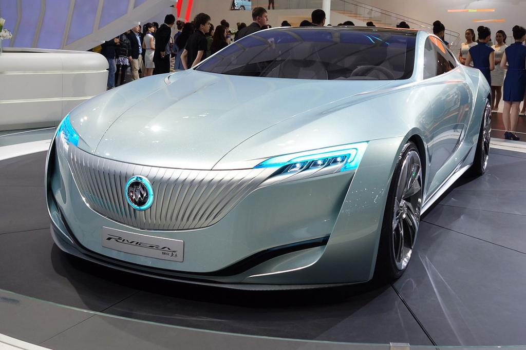 Buick Riveria at the Shanghai Motor Show.
