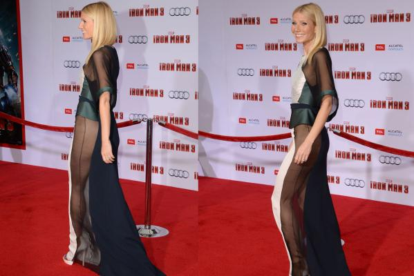 Gwyneth Paltrow goes commando?