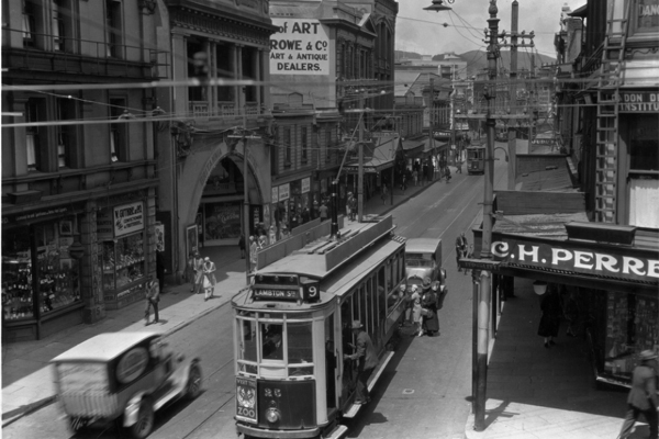 Manners St 1930s