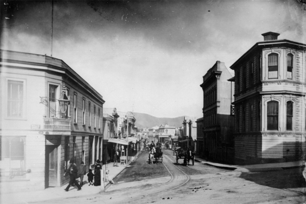 Manners St 1897