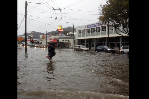 Flooding in Wellington