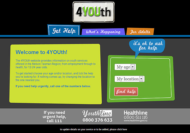 4Youth website