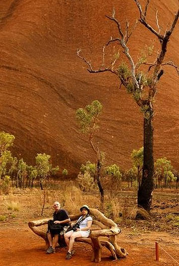 Back to the red centre