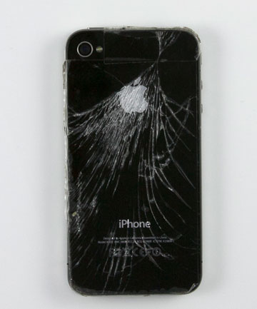 Cracked cellphone