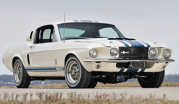 The 1967 Shelby GT500 Super Snake.