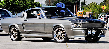 'Eleanor' 1967 Ford Mustang from movie Gone in 60 Seconds.
