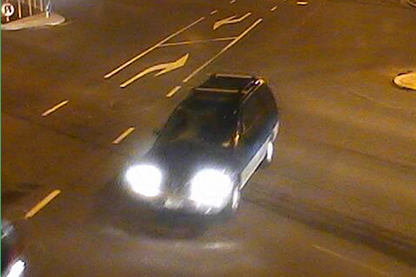 The vehicle believed to have been in