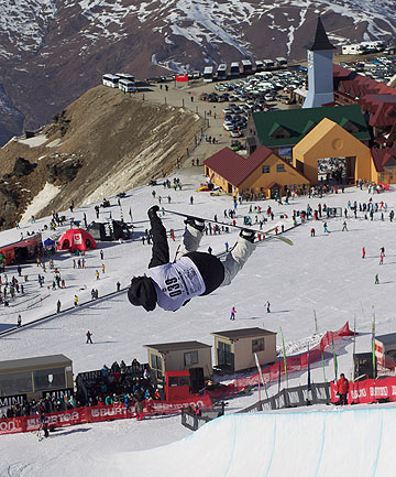 UP IN THE AIR: Cardrona has been a profitable operation but its Australian owners are reviewing their c