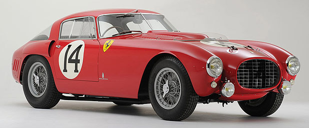 1953 V12 340/375 MM Ferrari Berlinetta.
