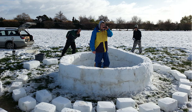 Riversdale igloo