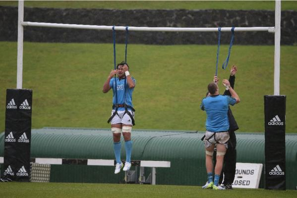 All Blacks training