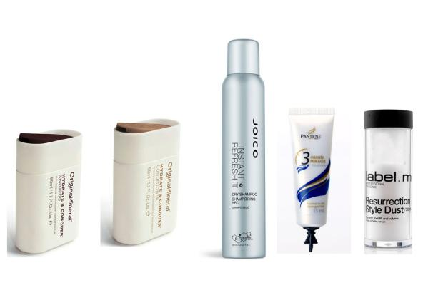 Beauty travel products - hair