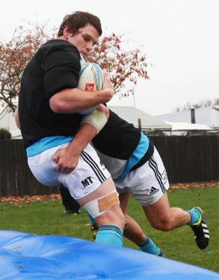 All Blacks test preparations