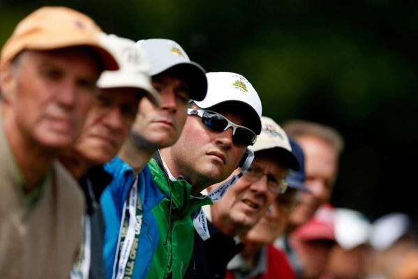 US Open spectators