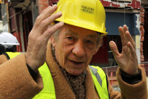 Sir Ian McKellen, Isaac Theatre Royal