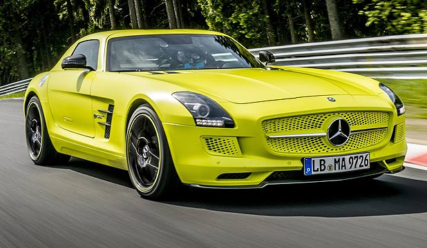Mercedes-Benz SLS AMG Coupe Electric Drive.