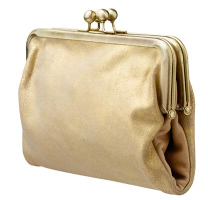 Saben Gold Clutch