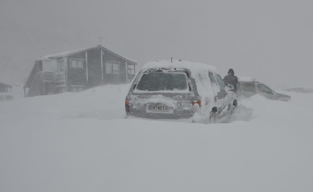mt cook blizzard