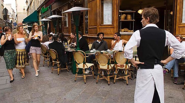 Paris waiter