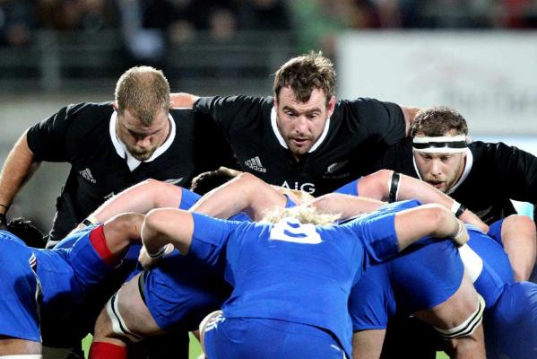 All Blacks front row