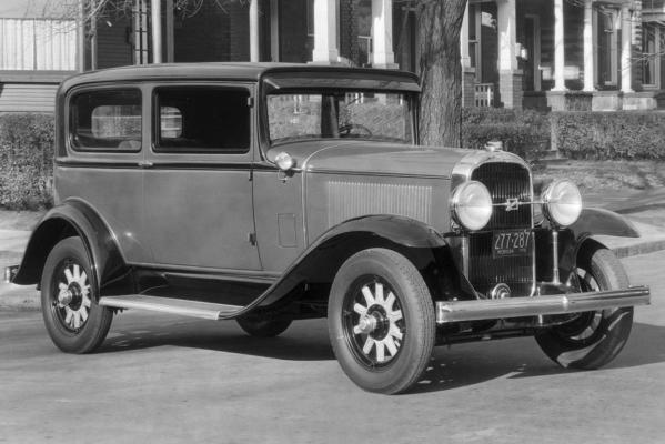 1931 Buick 50 Series Two Door Sedan