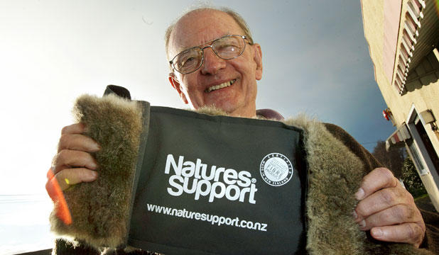 Natures Support owner Campbell Bary