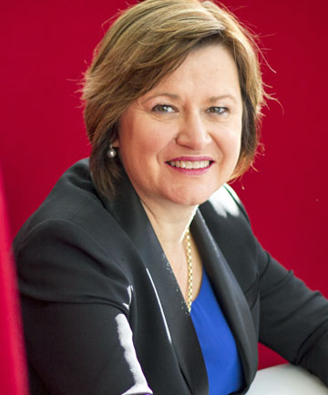 IAG chief executive Jacki Johnson