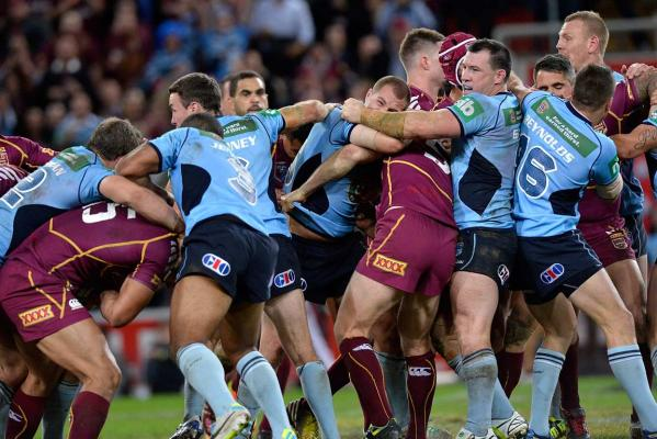 State of Origin fight