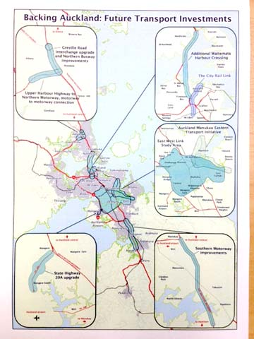 Auckland transport graphic