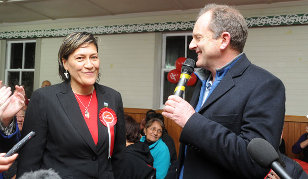 David Shearer and Meka Whaitiri