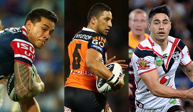 Sonny Bill Williams, Benji Marshall, Shaun Johnson