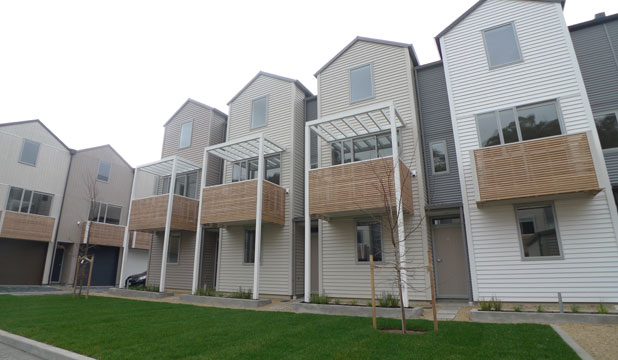 Mt Cook townhouses