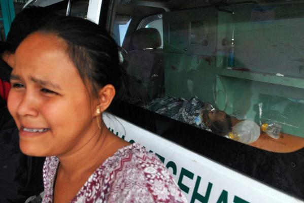 Woman and baby who died in Indonesia earthquake
