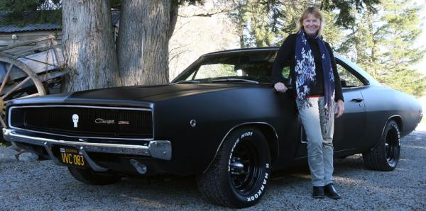 Pauline and Noel Jackson's 1968 Dodge Charger.