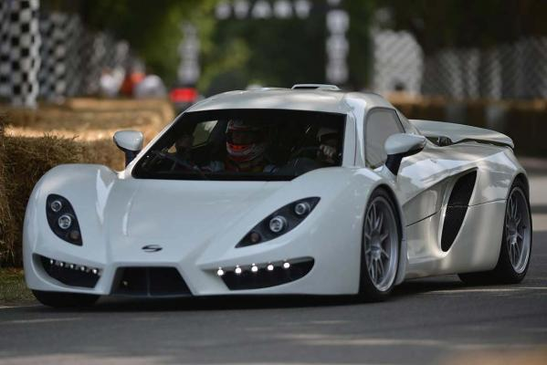 A Sin R1 at the 2013 Goodwood Festival of Speed.