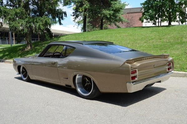 George Poteet's stunning Nascar-inspired 1969 Torino.