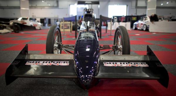 The Fish family's 8000 horsepower dragster is all set for the 2013 CRC Speedshow in Auckland.