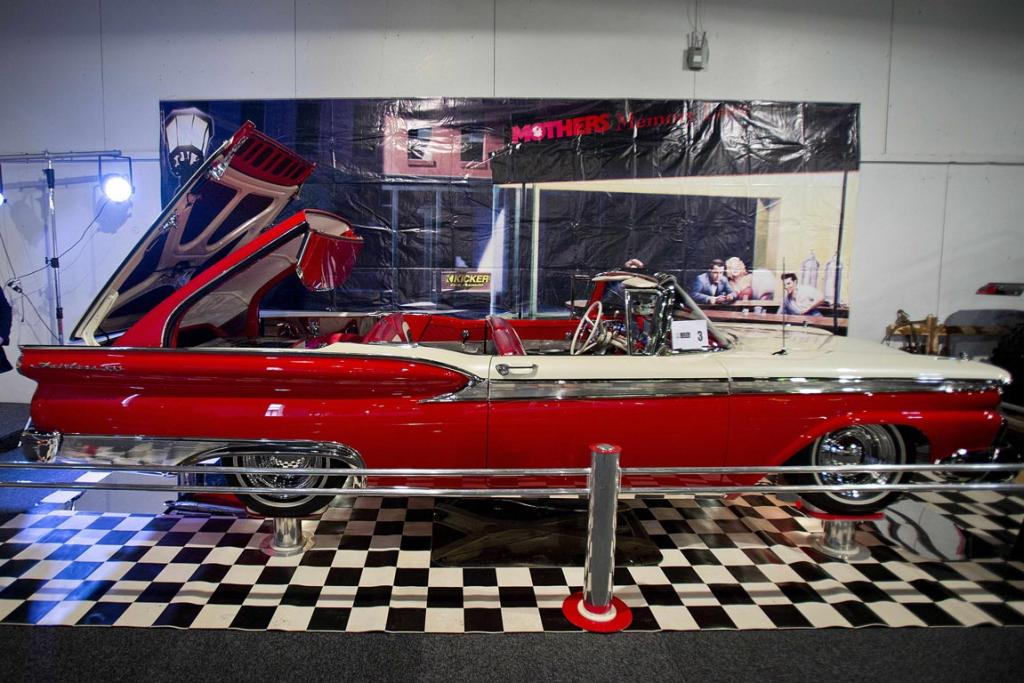 A beautiful 1959 Ford Fairlane 500 Skyliner is all set for the 2013 CRC Speedshow in Auckland.