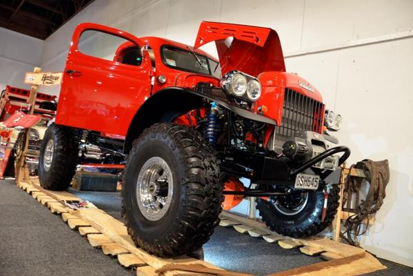 Dodge power wagon all set for the Castrol Edge Teng Tools Custom and Classic Show at the 2