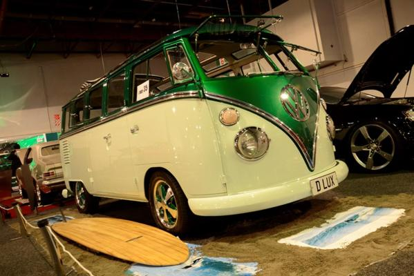 A 1963 VW Kombi GT all set for the Custom and Classic Show at the 2013 CRC Speedshow in Auckland.