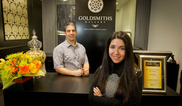 Goldsmiths Gallery Jewellers.