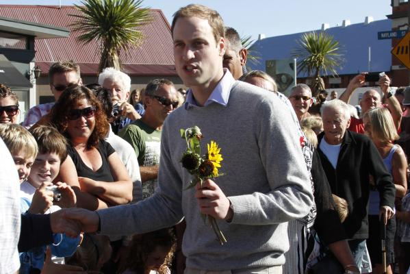 Prince William in Christchurch