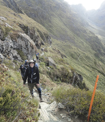 Routeburn grand traverse